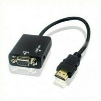 Kabel Converter HDMI to VGA with Audio