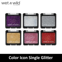 [7 Variant] Wet N Wild Color Icon Glitter Single