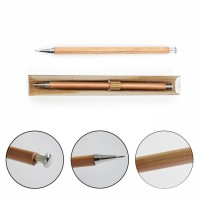 Wooden Mechanic Pencil and Box / Pensil Kayu Mekanik dan Kotak Mika