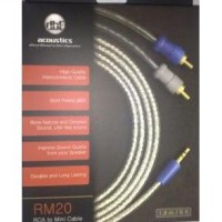 [DBE] RM20 Mini 3.5mm to RCA Audio Cable 1.2m