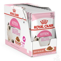 Royal Canin Kitten Instinctive in Gravy Pouch (12x85gr)