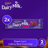 [Dapat 2 pcs] Cadbury Black Forest 65gr
