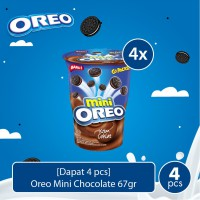 [Dapat 4 pcs] Oreo Mini Chocolate 67gr