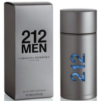 Parfum Carolina Herrera 212 Men EDT Tester Non Box - 100 ml