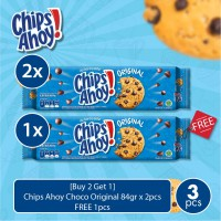 [Buy 2 Get 1] Chips Ahoy Choco Original 84gr x 2pcs - FREE 1pcs