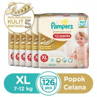 Pampers Popok Celana XL 6x21 Premium Care