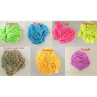 Sand In Motion (Kinetic Sand) Random Warna Pasir 1kg