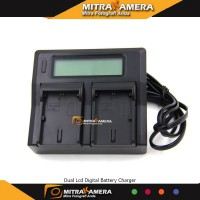 Dual Lcd Digital Battery Charger For Battery Sony NP-FW50