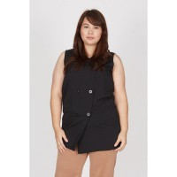 Itiera Pocket Vest Black