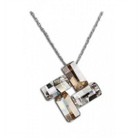 AXORA Necklace Real Platinum Plated TN0058