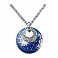 AXORA Necklace Real Platinum Plated TN0077