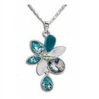 AXORA Necklace Real Platinum Plated TN0099