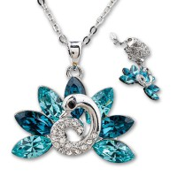 AXORA Necklace Real Platinum Plated TN0118