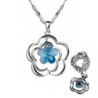 AXORA Necklace Real Platinum Plated TN0145