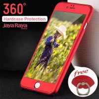 CASE 360 Full Protect iPhone 6 6S Hardcase + Tempered Cover Logo Cover