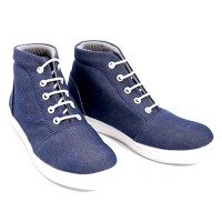 Dr.Kevin Canvas Boot Shoes 4011 Navy, 4011 Camel