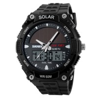 SKMEI Solar Power Sport LED Watch Water Resistant 50m - AD1049E