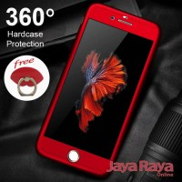 CASE 360 Full Protect IPhone 8 Hardcase Tempered Glass Logo Covered