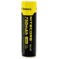 NITECORE 14500 Rechargeable Li-ion Battery 750mAh 3.7V - NL147