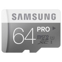 (PROMO) Samsung PRO Memory Micro SDHC / SDXC 64GB Class 10 UHS-1 90MB/s With SD Adapter