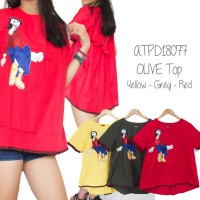 OLIVE TOP-ATPD18077 (NEW COLLECTION)