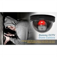 CCTV DUMMY FAKE SECURITY CAMERA MODEL DOME - CCTV Palsu / Tiruan