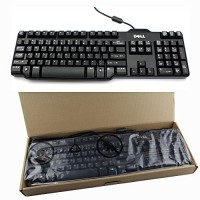 Keyboard Dell SK-8115 Slim 104-Key USB Wired 1.8M Cable