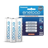 Panasonic Eneloop Batre/Baterry AAA/A3 800mAh 2100x charge (1 pack isi 4)