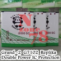 Baterai Samsung Grand 2 G7102 Grand Duos Supercopy Replika Double Power Ic Protection