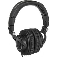 [AUDIO-TECHNICA] ATH-M50 Professional Closed-Back Studio Headphones with a Coiled Cable (Black)