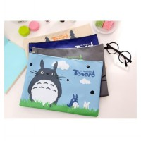 PF04 Kokoro My Neightbor Portable A4 file Storage pouch bag - Multifunction Pouch