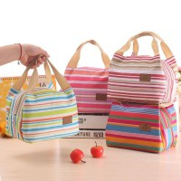 Lunch bag Cooler Bag Motif Salur (bonus 2pcs jelly ice cooler)