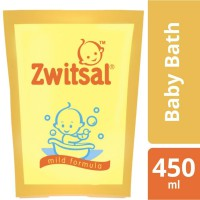 ZWITSAL BABY BATH CLASSIC POUCH PROMO 450ML