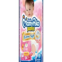 Mamy poko pants Extra soft M34 GIRL PAKET ISI 2 BAG