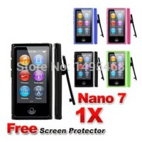 [globalbuy] TPU case with belt clip skin cover for Apple ipod nano 7 7th gen free Screen p/1836243