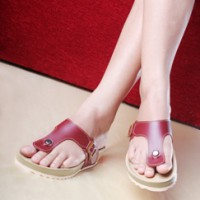 Salvora sandal casual PW01-maroon