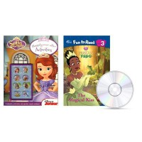 Disney Fun to Read Level 3 - The Magical Kiss (공주와 개구리) / Sofia the First - Happily Ever After Activities