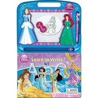 Disney Princess Learn To Write : Learning Series