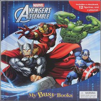 Avengers Assemble My Busy Books