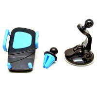 Holder Mobil 2 in 1 Airvent Dan Suction Cup