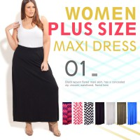 Big Size New Collection Long Skirt 'Anna'/Ladies Skirt/Maxi Skirts/Branded Skirts