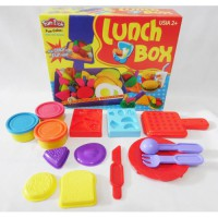 fundoh lunch box/ fun doh lunch box/ play doh/playdoh murah/mainan lilin anak murah