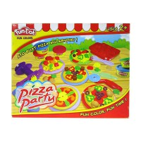 fundoh pizza party/fun doh pizza party/lilin mainan anak/fun doh murah
