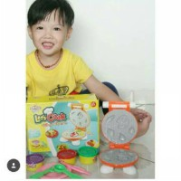Fun Doh Lets Cook Meat Series - Lilin Mainan Anak FunDoh PlayDoh Play Doh
