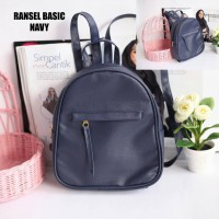 EL Piaza Mini Ransel Backpacks Kulit Tas Ransel Kulit / Sling Bag / Tas Slempang - Basic