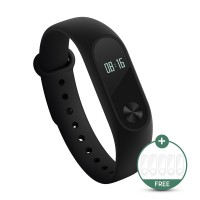Xiaomi Mi Band 2 Smart Bracelet with 0.42' OLED Display/Heart Rate Monitor - Hitam