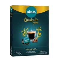 Unakaffe Capsule Espresso - Pack Of 2 Folding Box