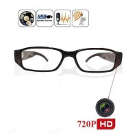 Clear Eye Glasses Spy 5 megapixel Video Camera 720P HD (kacamata Video/ kamera )