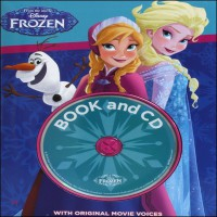 Disney Frozen Padded Cover Book & CD
