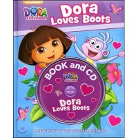 Dora Loves Boots [Book&CD]